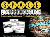 Space Comprehension Sheets