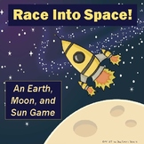 Space Race Earth, Moon, and Sun Science Game