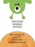 Space Theme Classroom Parent Handbook