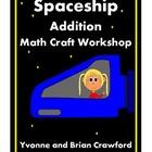 Addition Activity Spaceship Craft Workshop