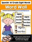 Spanish 1st Grade High Frequency Words (Dolch) Word Wall
