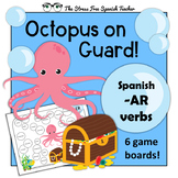 Spanish AR verbs Review 6 games, present preterit imperfec