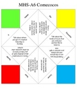 Spanish Activities Verbs Comecocos de Papel Cootie-Catcher
