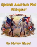 Spanish American War Webquest (Great Lesson Plan)