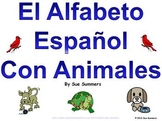Spanish Alphabet with Animals Signs and Presentation - Alf