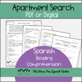 La Casa - Spanish Apartment Search- Reading Comprehension