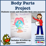 Spanish Body Parts Project and Presentation
