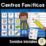 Spanish: Centro foneticos 001: Initial Sound Picture Sort