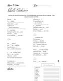 "Spanish Cloze: ""Bello Embustero"" (Beautiful Liar) by Shaki"