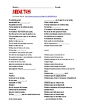 """Spanish Cloze: """"Minutos"""" music video by Ricardo Arjona"""