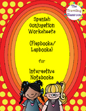 Spanish Conjugation Worksheets or Flapbooks/Lapbooks for I