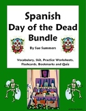 Spanish Day of the Dead Bundle - Vocabulary, Flashcards, Q