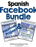 Spanish Facebook BUNDLE: Templates, Project, Rubric
