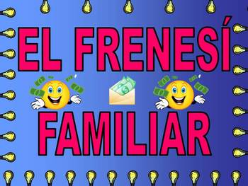 Spanish Family Feud Game - Sports/Classes/Materials/Family