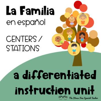 Spanish Family UNIT, La Familia, Stations / Differentiated Instruction