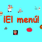 Spanish Grade 6 - Food at School slideshow lesson