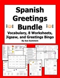Spanish Greetings and Leave Takings Bundle of 10
