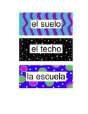 Spanish Labels Fun & Colorful!