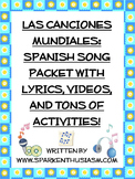 Spanish Music, Songs, Hispanic Singers and Countries Unit