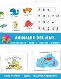 Spanish Ocean Animals- Animales del Mar
