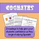 Spanish Reading Comprehension Practice- Cognates!