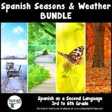 Spanish Season and Weather Packet & Answer Key