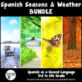 Spanish Season and Weather Packet & Answer Key