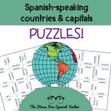 Spanish Speaking Countries Puzzle, Magic Squares