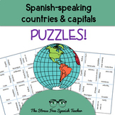 Spanish Speaking Countries Puzzle, Magic Squares