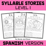 Spanish Stories & Comprehension Questions - Simple Syllabl