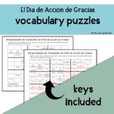 Spanish Sudoku! Thanksgiving, El Dia de Accion de Gracias