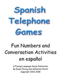 Spanish Telephone Games for Numbers Practice