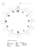 Spanish Time Worksheets