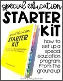 Special Education Program Starter Kit- Single Teacher License