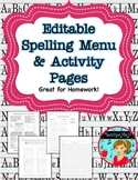 Spelling Practice Activities and Homework $ Dollar Deal $
