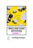Spelling Card Activities Level 1