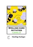 Spelling Card Activities Level 2