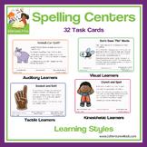 Spelling Centers: Bundle of 32 Spelling Activities