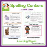 Spelling Centers: Bundle of 32 Spelling Activities