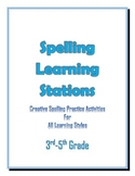 Spelling Learning Stations