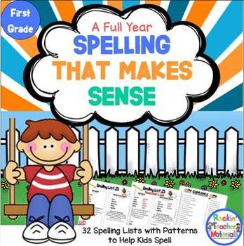 Spelling Lists That Make Sense-First Grade
