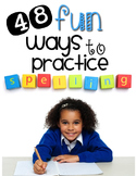 Spelling Task Cards {48 Fun & Engaging Activities for ANY
