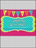 Spelling Word Work Activities Galore! {40+ activities for