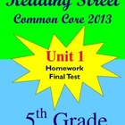 Reading Street Common Core 2013 - 5th Grade Spelling and V
