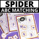 Spider Alphabet Match:  ABC Activitiy for Preschool and Ki