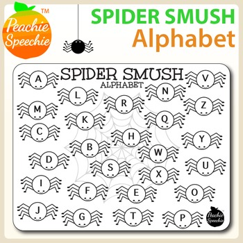 Spider Smush: Alphabet