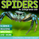 Spiders! {An Integrated Unit} - Common Core Aligned