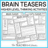 Brain Teasers for Transitions