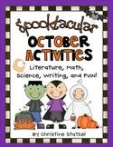 Spooktacular October Activities {Literature, Writing, Math
