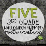 Spooky Halloween! [5 Math Centers]